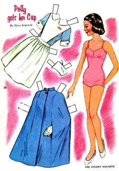 Polly Gets Her Cap by Neva Schultz, Golden Magazine