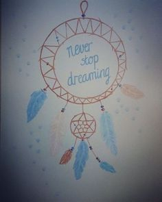 Never Stop Dreaming, Dream Catcher, Draw, Instagram Posts, Painting, Decor, Dreamcatchers, Decoration, To Draw