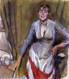 Ferdinand Dorsch, Aschermittwoch (a. 1916, Galerie Neue Meister, Dresden)