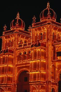 Maharaja's Palace - Mysore - India