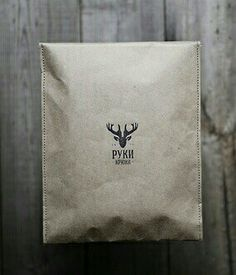 Stitched brown paper/bag