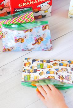 Custom Snack Baggies are simple to make and everyone will love them!