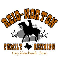 Summer Camp 11: This Texas cowboy design is perfect for your reunion, summer camp, or special event. #reuniontees #ctp365 #reuniontshirts #familyreuniontshirts