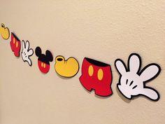 Bandera de Mickey Mouse