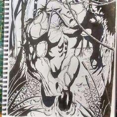 Swamp Thing Artwork by Gregg Mason Art #swampthing