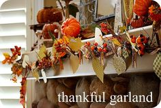 Thankful Garland Tutorial