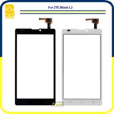 """Phone Parts High Quality 5.0"""" Black White Touchscreen Panel Digitizer Front Glass Lens Sensor Touch Screen  For ZTE Blade L2  #Affiliate"""
