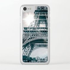 PARISIAN FLARE Clear iPhone Case