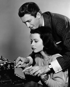 James Stewart et Hedy Lamarr