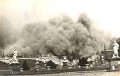 Crystal Palace is burning down, burning down, burning down. 1936.