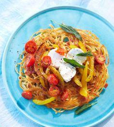 Spaghetti-Rösti - Rezepte - [LIVING AT HOME]
