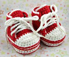 Crochet Baby Sneakers  Crochet Infant by TresCrochetCreations, $40.00