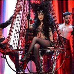 Cher Dressed to Kill Tour Photos