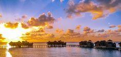 Gili Lankanfushi - Barefoot paradise in the Maldives Gili Lankanfushi, 5 Star Resorts, International Airport, Maldives, Paradise, Asia, Boat, Clouds, Sunset