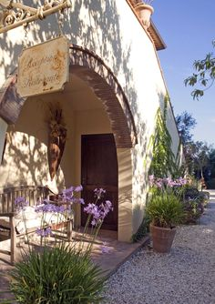 Parks, Villa, Sidewalk, San, Toscana, Roses Garden, Florence, Refurbishment, Cottage House