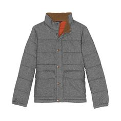 Men's Casual Insulated Pattern Jacket | Lands' End Modern