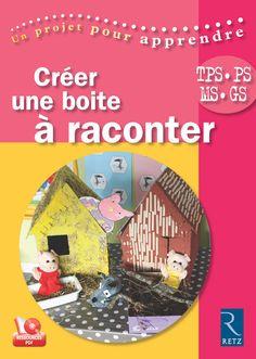 Créer une boîte à raconter - de la TPS à la GS, est un ouvrage pratique et méthodologique pour mener un projet de classe autour du langage, sujet incontournable en maternelle.