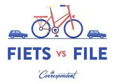 Voor een tiende van het geld dat we in snelwegen stoppen, kunnen we een prachtige fietsinfrastructuur aanleggen. Weg files. Dit verhaal is de aftrap van een zomers journalistiek onderzoek: Fiets vs. File. Praat mee!