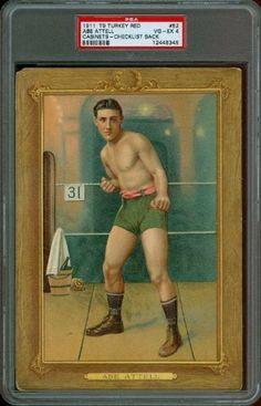1911 T9 Turkey Red #52 - Abe Attell - PSA 4 -- Boxing HoF -- 1919 Black Sox by T9 - Turkey Red. $720.00. 1911 T9 Turkey Red #52 - Abe Attell - PSA 4 -- Boxing HoF -- 1919 Black Sox