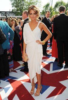 Millie Mackintosh at the BAFTA TV Awards 2012