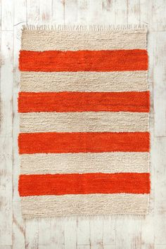 Circus Stripe Rug  #UrbanOutfitters is this what you were thinking Kathryn?