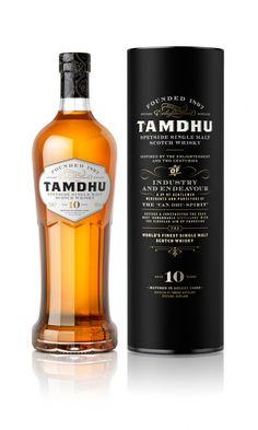 New Tamdhu 10yo - a very striking bottle design to say the least!