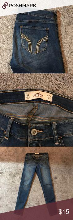Hollister Jeans Medium wash hollister skinny jeans Hollister Jeans Skinny