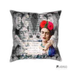 Almofada Frida Kahlo - Carta