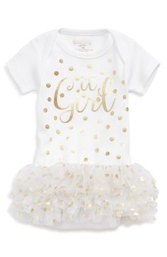 Sara Kety Baby & Kids 'It Girl' Tutu Bodysuit (Baby Girls) available at #Nordstrom