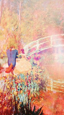 Disney meets Van Gogh - Beauty and the Beast Walt Disney, Disney Magic, Bella Disney, Disney Girls, Disney Love, Disney Art, Disney E Dreamworks, Disney Pixar, Disney Characters