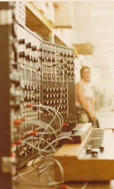 Moog vintage board for studio, keyboard controller