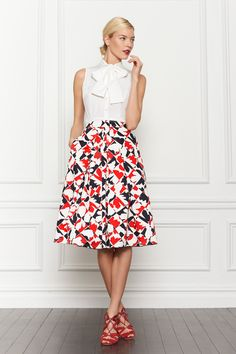 Pre-Fall 2013 | Carolina Herrera — Lookbook