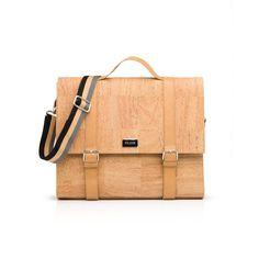 Aktentasche «Buffalo» aus Korkleder – Premium Korktaschen von Pelcor Buffalo, Rainy Weather, Laptop Tote, Leather, Water Buffalo