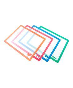 OMG I so need these. Cross contamination prevention!  #zulilyfind! Chop Chop Board Set #zulilyfinds
