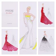 Preview Pastore Bridal 2016 (bozzetti) #preview #pastorebridal #collection2016 #glamour #fashion #luxury #weddingdress #bridaldress #pastorepress