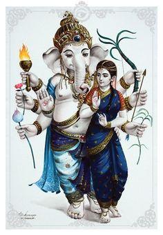 Shiva Hindu, Shri Ganesh, Ganesha Art, Hindu Deities, Hindu Art, Ganesha Pictures, Ganesh Images, Krishna Avatar, Baby Ganesha