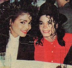 Aww cute pic of MJ & Janet