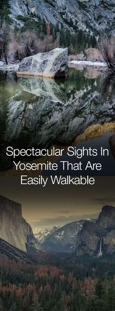 Yosemite is full of spectacular breathtaking views, and many of them are within easy access. You don't have to be an exceptional hiker or backpacker to get to some of the most iconic scenes in the world. This guide of spectacular and walkable sights in Yosemite includes both hidden gems and well-known destinations. Happy Trails!