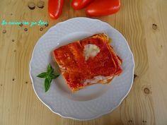 Lasagna caprese - In cucina con zia Lora Gnocchi, Estate, Carne, French Toast, Pasta, Italy, Cooking, Breakfast, Food