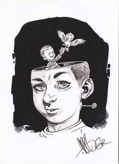 Locke & Key illustration by Gabriel Rodriguez