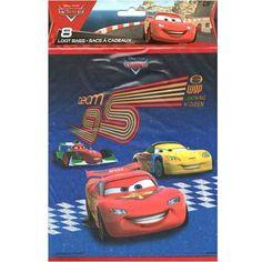 Disney Pixar Cars 2 Loot Bags [8 per pack]