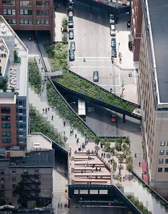 High Line | New York, USA. By James Corner Field Operations en Diller Scofidio & Renfro