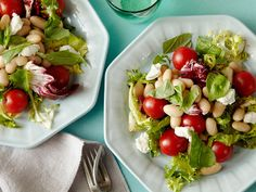 Whip up this Goat Cheese, Herb and Bean salad in just 5 minutes. Fresh summer ingredients and a homemade vinaigrette give this side a straight-from-the-garden type of flavor.
