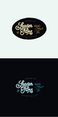 ontwerpen create a classic fresh look for leader films logo merkidentiteit - Film Festival Brochure Template