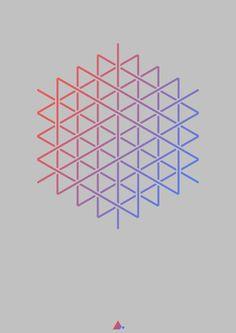 Hexagonal Print XIII
