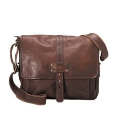 Fossil 'Max' Leather Commuter Bag  Item Number: MBG1317201    Compare: $208.00    Today: $189.99