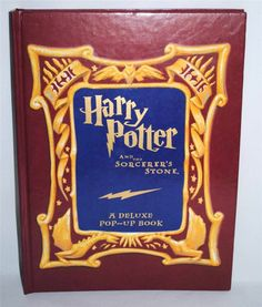 Harry Potter and the Sorcerer's Stone A Deluxe Pop-up Book Hardcover 2001