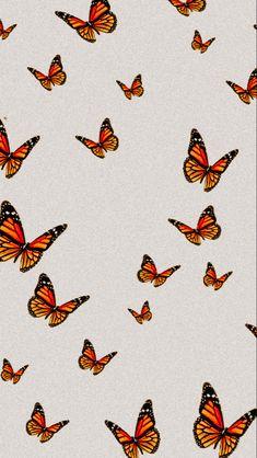 Girl Iphone Wallpaper, Butterfly Wallpaper Iphone, Homescreen Wallpaper, Iphone Background Wallpaper, Retro Wallpaper, Cartoon Wallpaper, Wallpaper Collage, Iphone Wallpaper Tumblr Aesthetic, Cute Patterns Wallpaper