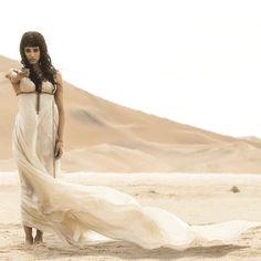 Chosen as Egypt's next great queen.