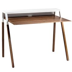 Blu Dot x Fab: Cant Desk White, at 20% off!